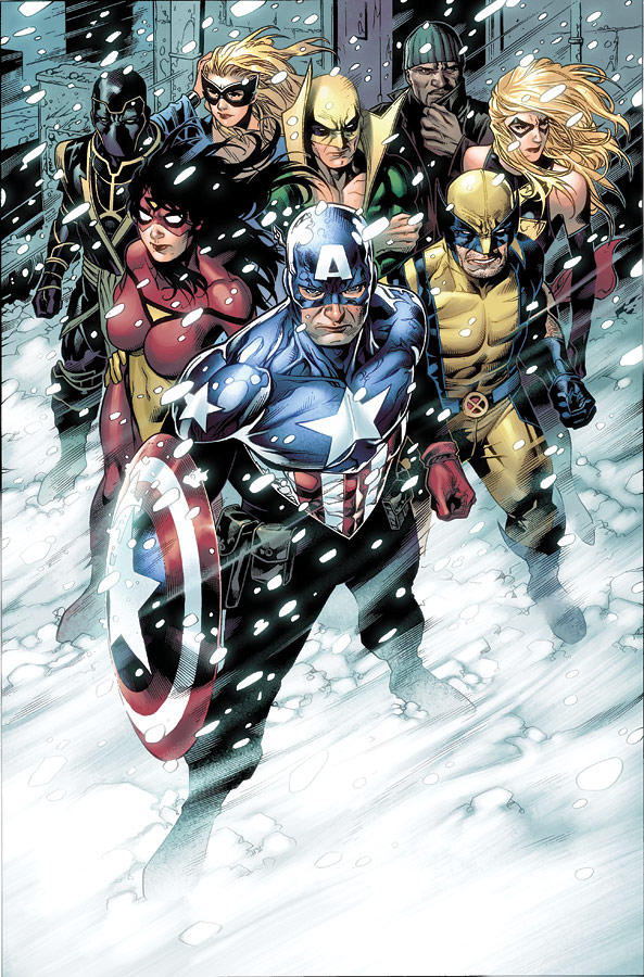 FCBD Avengers p.4 by JohnRauch