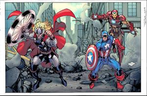 Avengers green screen by JohnRauch