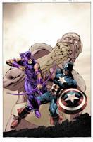 Hawkeye 2 Cover by JohnRauch