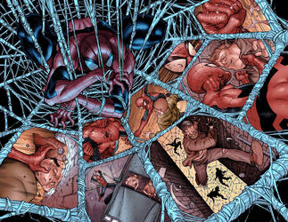 Amazing Spider-man 665.13-14 by JohnRauch