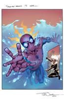 Spider-man magazine 9 by JohnRauch