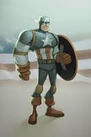Captain America by JohnRauch