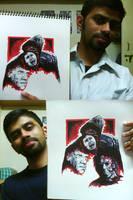 Halloween II Fan Poster WIP by karthik82