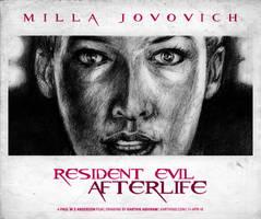 Resident Evil: Afterlife BW 2 by karthik82