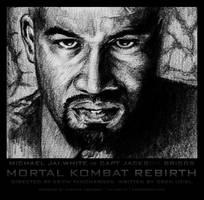 Mortal Kombat Rebirth - Jax BW by karthik82