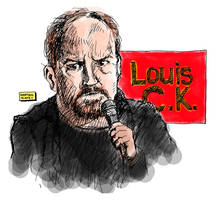Louis C.K. by karthik82