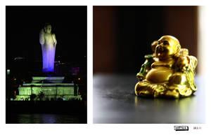 Two Buddhas by karthik82