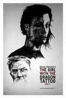 Girl w Dragon Tattoo 2011 WIP by karthik82