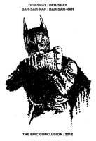 Batman with the EMP Gun by karthik82
