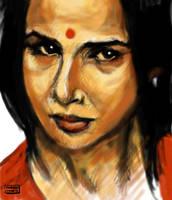 Kahaani - Vidya Balan by karthik82