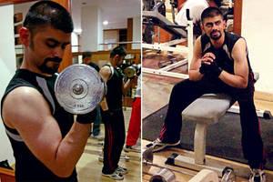 Day 100 #Gym by karthik82