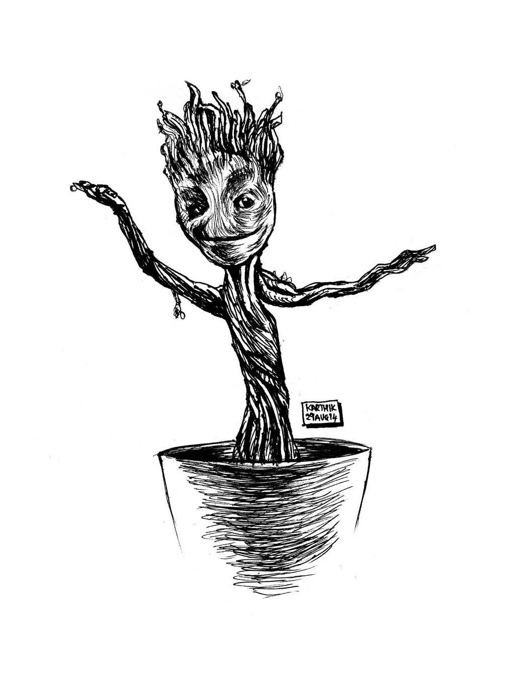 Baby Groot by karthik82