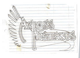 Logo Across the Highlands by V-de-Vatapa
