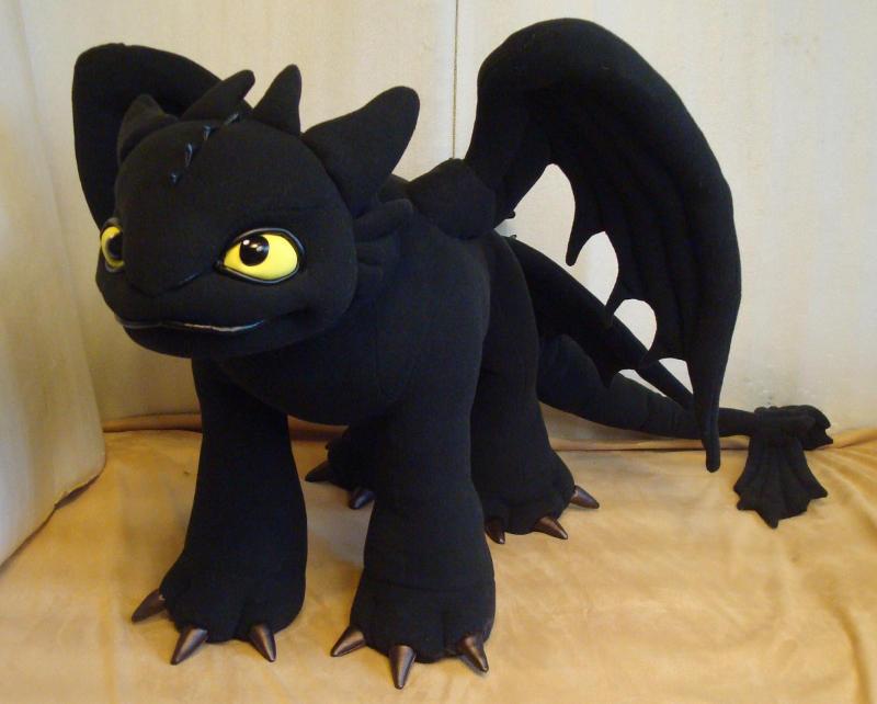 Toothless Dragon Soft Toy By Skazkodrom On Deviantart