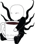 Slendy Needs Coffee by Ana-Wolf