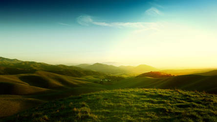Californian Hills by balderoine