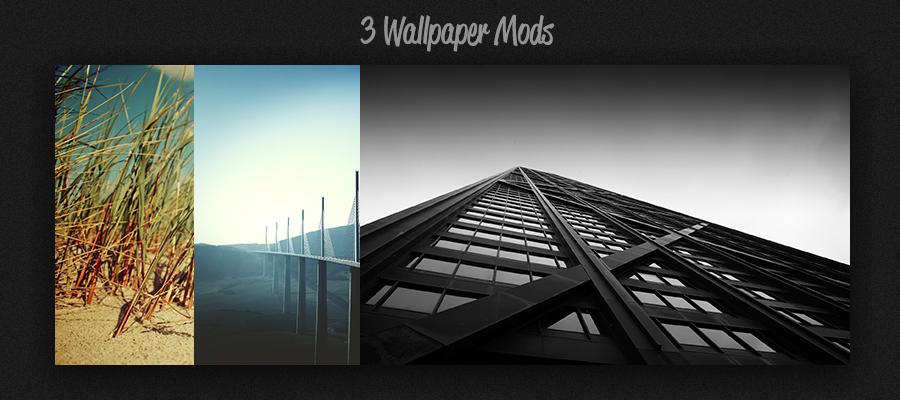 Wallpaper Mods by balderoine