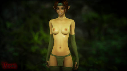 Wood elf by Vaesark