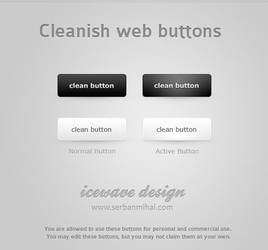 Cleanish Web Buttons by ICEwaveGfx