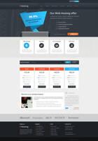 Web Hosting Template by ICEwaveGfx