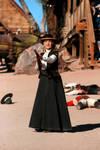 Gun Fight Reenactment 3 by MarieShannon