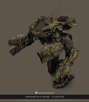 MWO - King Crab - Confederation of Arcadia by user000000000001