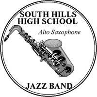 Jazz Alto Sax Badge by bumblefly