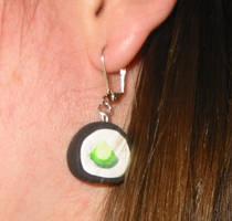 Kappamaki Earrings by bumblefly