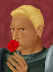 With a Rose by GulJarol