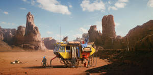 Desert trip by PulpoGlow