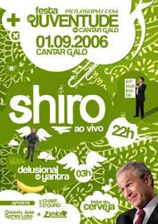 Shiro - 01.09.2006 Flyer by sh4vo