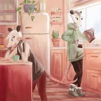 Morning Coffee by SpycyHorror