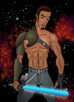 Kanan Jarrus from Star Wars Rebels by TumbledHeroes