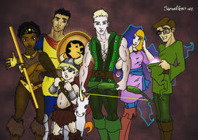 Dungeons and Dragons cartoon redo by TumbledHeroes