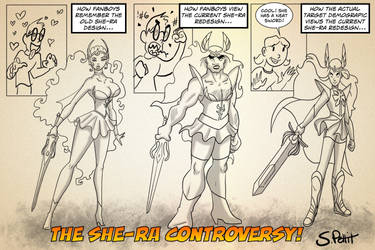 She Ra Controversy by TumbledHeroes