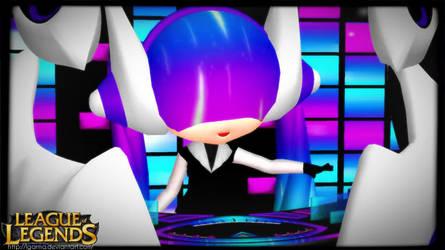 [MMD X LOL] CHIBI DJ SONA ETHEREAL by LGarma