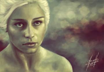 Game of Thrones: Khaleesi by charychu