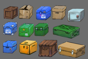 boxes by Deltaplaneruga