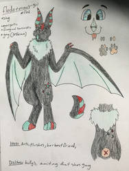 Fleds ref sheat by vanillacreations