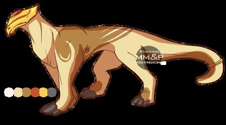 Armored Dragon Adoptable :OPEN: by MissMignonne