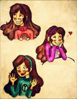 Miss. Mabel Pines by Disney-Sarah