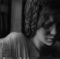 Hyperrealism Mia Wasikowska by SFleck