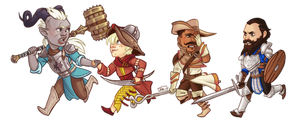 Band of Bickering Boneheads by Paperwick