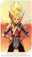 The Chariot: Rhiannon Moirin Cousland by Paperwick