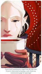 Warden Inessa: Queen of Cups by Paperwick