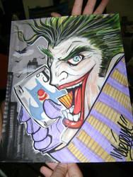 Joker by Cordoba by whiteharu