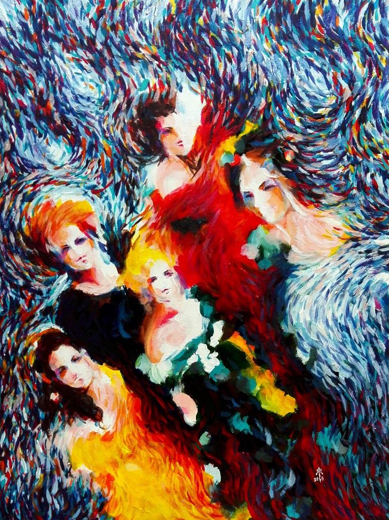 Dancing ladies by Corleth