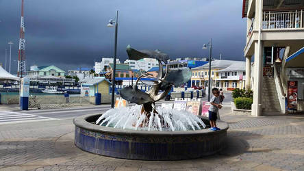 George Town Fountain by Slicenndice