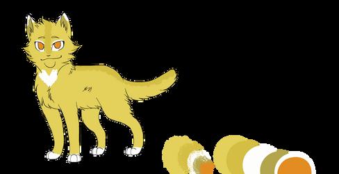 Thunderkit (Paw, Stripe) Reference by FawnDrawsYT