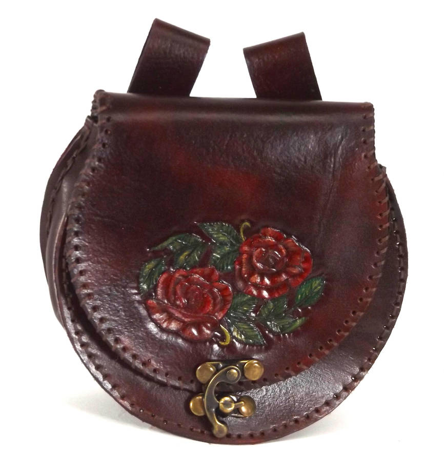 Rose Pouch by StephieSparkles